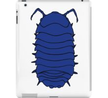 Blue Roly Poly iPad Case/Skin