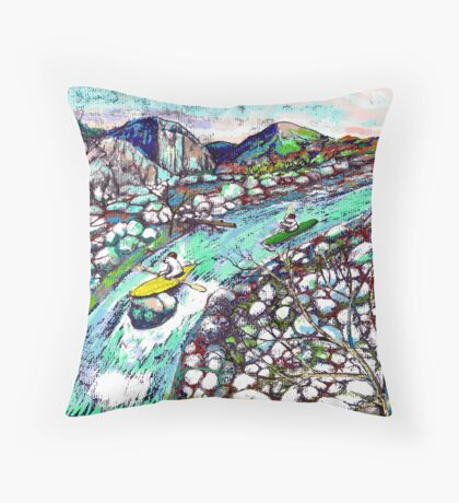 Kodiak Moment Throw Pillow