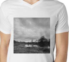 russian landscape Mens V-Neck T-Shirt