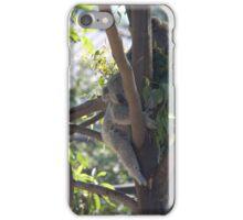 Sleeping Koala iPhone Case/Skin