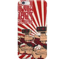 Rise of R.O.B.unism iPhone Case/Skin