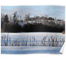Winter Landscape- Keene Ontario Canada Poster