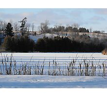 Winter Landscape- Keene Ontario Canada Photographic Print