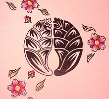 """Dakimyoga with Sakura"" by Katriya Kramme"