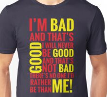 Bad guys  Unisex T-Shirt