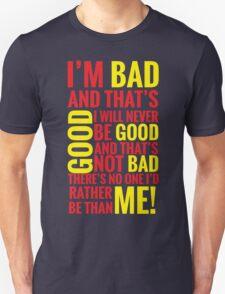 Bad guys  T-Shirt