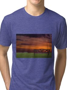 Sunrise on the Bay of Fundy, Nova Scotia Tri-blend T-Shirt