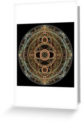 Steampunk Clockwork by Leoni Mullett