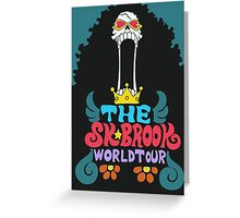 The Soul King World Tour - Brook Greeting Card