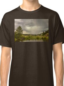Lightning Striking Over Rollinsville Colorado Classic T-Shirt