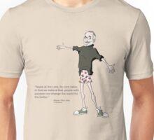 Steve Jobs in His Shorts Unisex T-Shirt