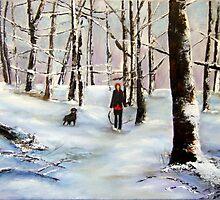 walk in the woods by Jennib