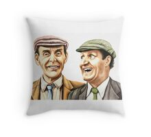 Eric and Tommy - The Plank Throw Pillow