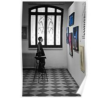 David, Grasping Some Art - Arles, France - 2010 Poster