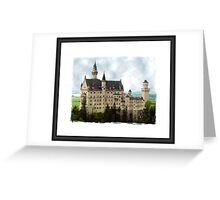 Portrait of a Castle Greeting Card