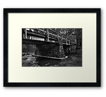 Bridge at Rice Dam Framed Print