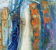 Blue deluge by Adam Bogusz