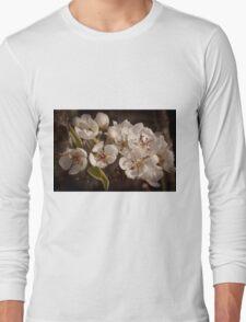 Apple Blossoms, Cascade Valley, Washington Long Sleeve T-Shirt