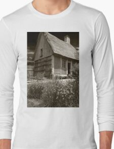Acadian Cottage Long Sleeve T-Shirt