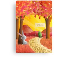The Tortoise and the Hare pt 2 Canvas Print