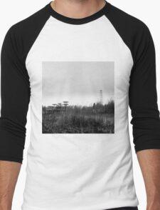 tesla station Men's Baseball ¾ T-Shirt
