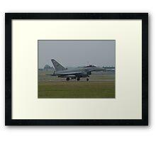 """Typhoon FGR4 """"QO-Y 3 (F) Squadron RAF Framed Print"""