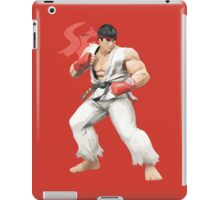 Ryu Punches In iPad Case/Skin