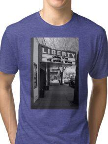 Movie Theater, Dayton, Washington Tri-blend T-Shirt