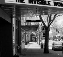 Movie Theater, Dayton, Washington Sticker