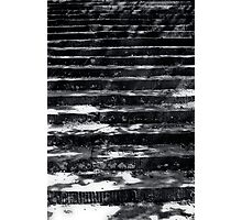 Shadowed steps Photographic Print