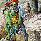 War Goblin by J. Gallego