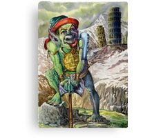 War Goblin Canvas Print