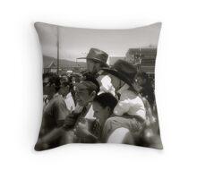 Independance day Costa Rica Throw Pillow