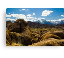 Heart Arch, Alabama Hills Canvas Print