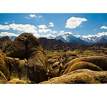Heart Arch, Alabama Hills Photographic Print