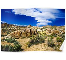 Sierra Wave at Alabama Hills Poster