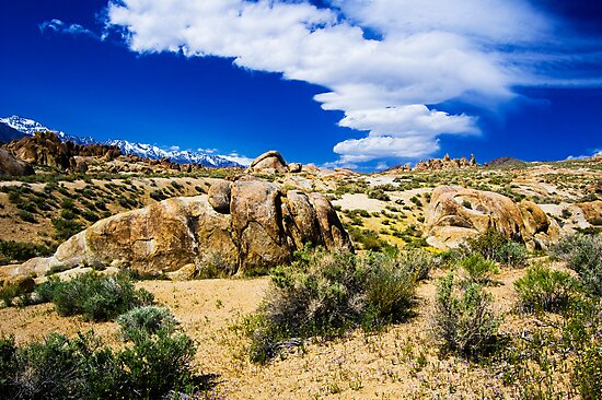 Sierra Wave at Alabama Hills by Justin Mair
