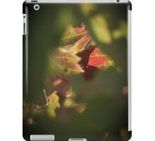Maple red iPad Case/Skin