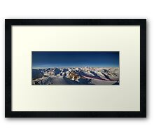 Alpine Skiing Framed Print