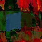 RED MASK by Paul Quixote Alleyne