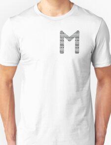 'M' Patterned Monogram T-Shirt
