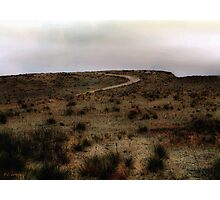 Twilight Grasslands Photographic Print