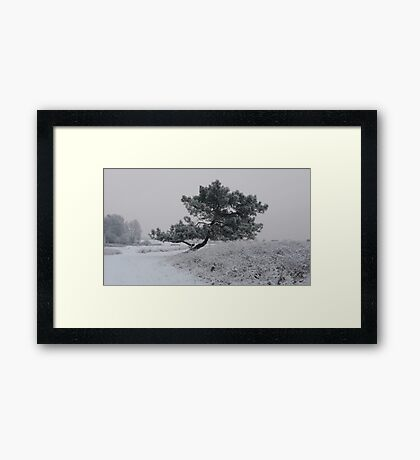 Silence speaks volumes  Framed Print