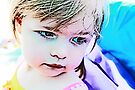 Little Girl At The Beach by Evita