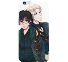 Draco and Harry iPhone Case/Skin