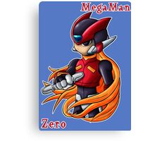 Mega Man Zero Canvas Print
