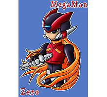 Mega Man Zero Photographic Print