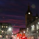 Union Street in the glow of the evening by christopher363
