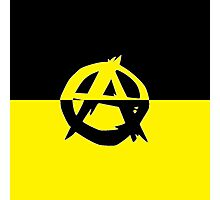 Voluntaryism is Anarchy Photographic Print