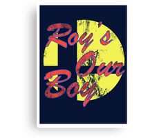 Roy's Our Boy Canvas Print
